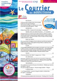 Le Courrier des Addictions / N° 3 septembre 2016