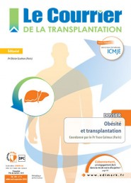 Le Courrier de la Transplantation / N° 3 septembre 2016
