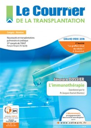 Le Courrier de la Transplantation / N° 2 juin 2017