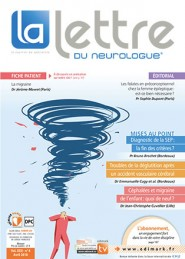 La Lettre du Neurologue / N° 4 avril 2018