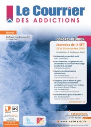 Le Courrier des Addictions / N° 1 mars 2019