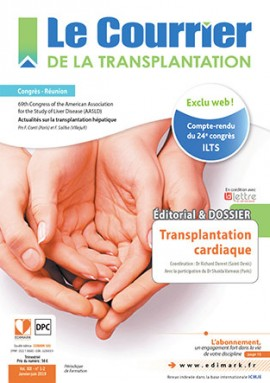 Le Courrier de la Transplantation