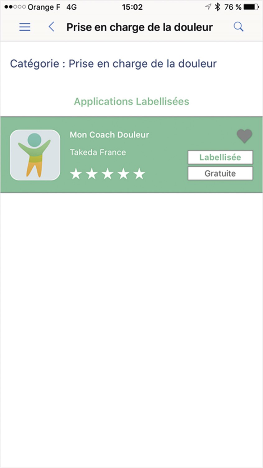 mHealth Quality : la labellisation des applications mobiles de santé - Figure 2